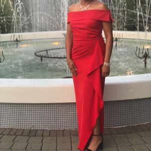 Red Vince Camuto Dress